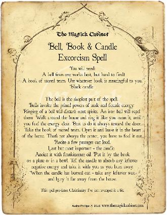 Bell book and candle spell. The Magick Cabinet free Grimoire full of spells and rituals for your own personal use. Blessed Be Witches, Coven Supplies