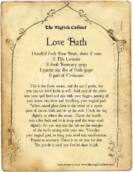 Love Spell from The Magick Cabinet Book of Shadows full of spells and rituals for your own personal use. Blessed Be Witches. Wicca Spells and Rituals